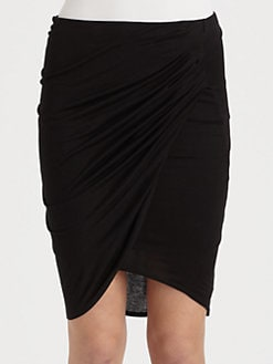Helmut Lang - HELMUT Helmut Lang Kinetic Jersey Skirt