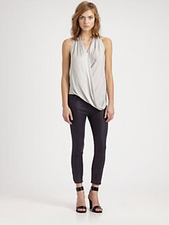 Helmut Lang - HELMUT Helmut Lang Asymmetric Draped Top