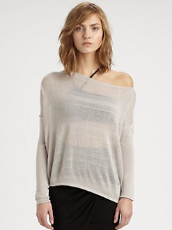 Helmut Lang - Open-Knit Cotton-Blend Sweater