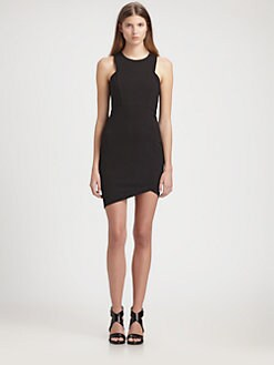 Helmut Lang - Asymmetric Dress