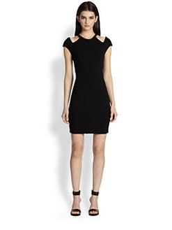 Helmut Lang - HELMUT Helmut Lang Gala Cutout Jersey Dress