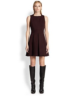 Proenza Schouler - Wool Jersey Pleat Dress