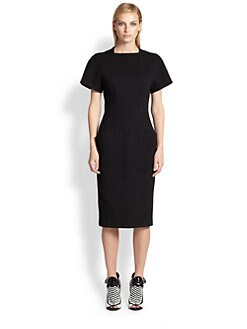 Proenza Schouler - Sculpted Wool Midi Dress