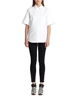 Proenza Schouler - Textured Cotton Shirt