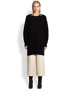 Proenza Schouler - Merino Stitch-Mix Tunic Sweater
