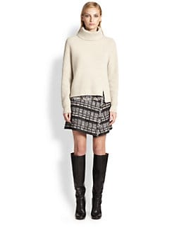 Proenza Schouler - Ribbed Wool & Cashmere Turtleneck