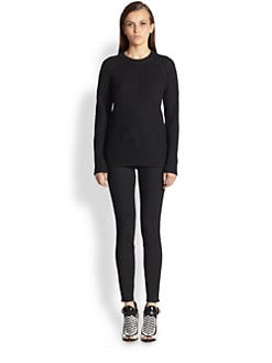 Proenza Schouler - Merino Wool Mixed-Stitch Sweater
