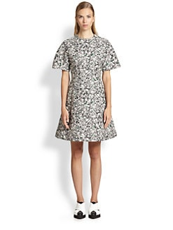 Proenza Schouler - Carpet Pad Jacquard Dress