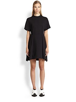 Proenza Schouler - Textured Wool Jersey Dress