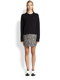 Proenza Schouler - Wool-Cashmere Cropped Sweater