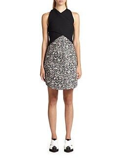 Proenza Schouler - Carpet Pad Contrast Dress