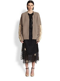 Reed Krakoff - Shearling-Patch Sweater