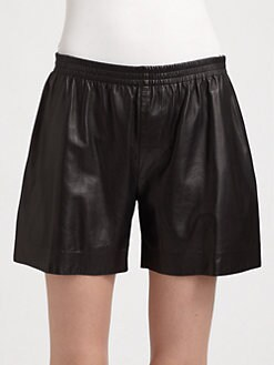 Reed Krakoff - Nappa Leather Boxer Shorts