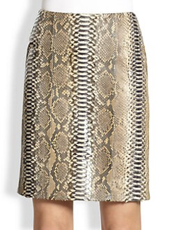 Reed Krakoff - Python Pencil Skirt