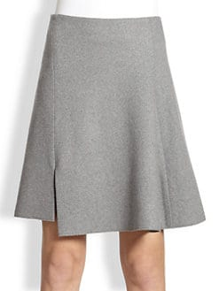 Reed Krakoff - Asymmetrical Wool Skirt