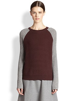 Reed Krakoff - Colorblock Cashmere Sweatershirt