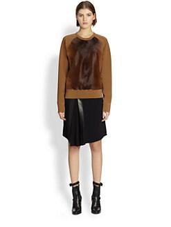 Reed Krakoff - Calf Hair-Front Sweatshirt