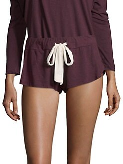 Eberjey - Heather Drawstring Shorts