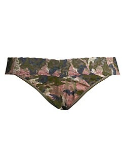 Hanky Panky - Hunter Lace Camouflage Thong