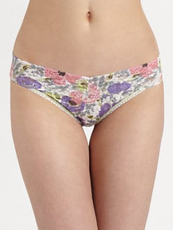 Hanky Panky - Poppies V-Shaped Bikini