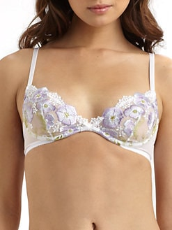 Hanky Panky - Embroidered Underwire Bra