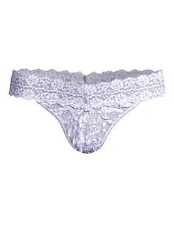 Hanky Panky - Cross-Dye Original Rise Lace Thong