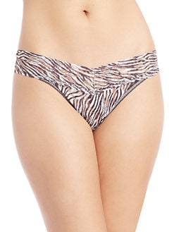 Hanky Panky - Zebra Original Rise Thong