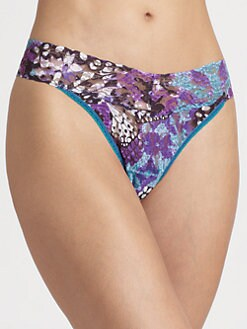 Hanky Panky - Monarch-Print Original-Rise Thong