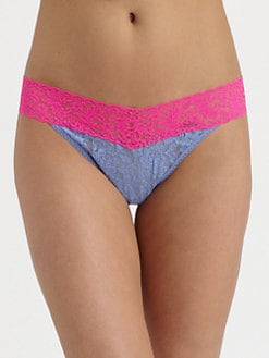 Hanky Panky - Colorplay Original Rise Thong