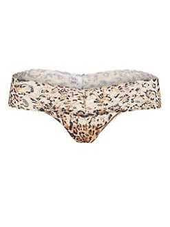 Hanky Panky - Leopard Low-Rise Thong