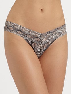 Hanky Panky - Anaconda Low-Rise Thong