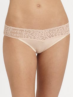 Hanky Panky - Lace V-Shaped Bikini