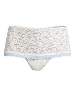 Hanky Panky - Colorplay Retro Lace Thong