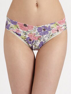 Hanky Panky - Poppies Original Rise Thong