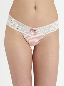 Hanky Panky - Resort Striped Thong