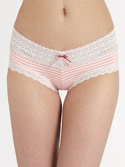 Hanky Panky - Resort Striped Cheeky Hipster