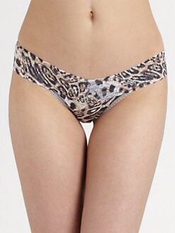Hanky Panky - Ocelot Low-Rise Thong