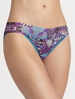 Hanky Panky - Monarch-Print V-Shaped Bikini