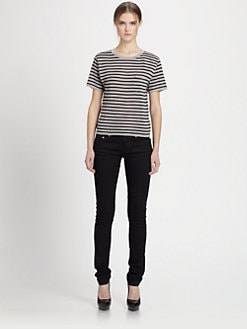 Saint Laurent - Marinière Merino Wool Tee