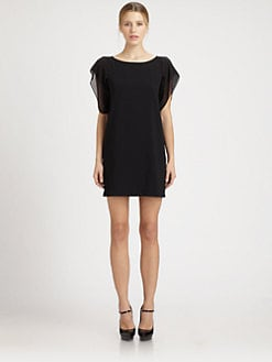 Saint Laurent - Flutter Mini Dress