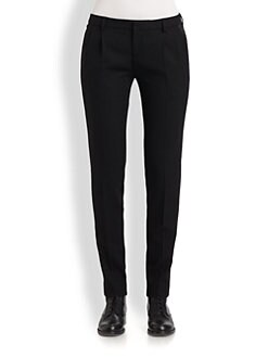 Saint Laurent - Wool Tuxedo Pants
