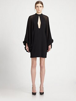 Saint Laurent - Crepe Sable Dress