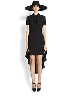 Saint Laurent - Draped Dress