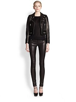 Saint Laurent - Perfecto Leather Jacket