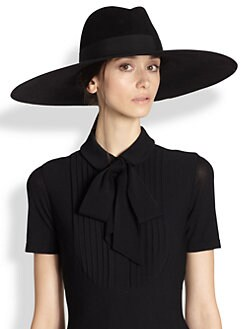 Saint Laurent - Fur Felt Fedora