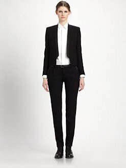Saint Laurent - Cutout Tuxedo Blazer