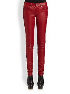 Saint Laurent - Leather Jeans