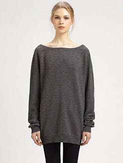 Saint Laurent - Cashmere Elbow-Patch Sweater