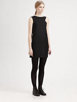 Saint Laurent - Shoulder Cutout Dress