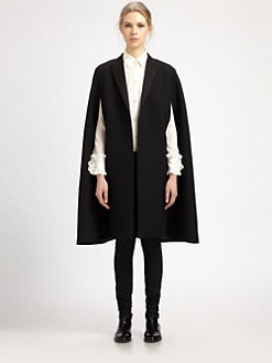 Saint Laurent - Tuxedo Cape